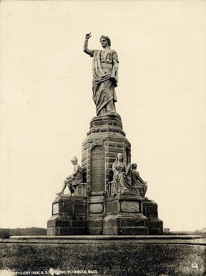 National Monument to the Forefathers [sculpture] / (photographed by A. S. Burbank)