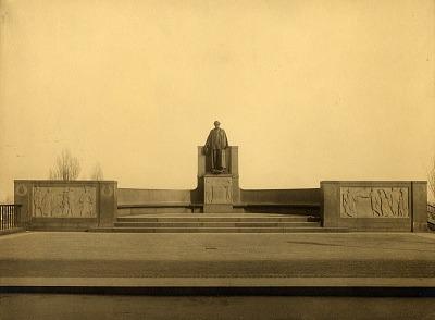 Carl Schurz Memorial [sculpture] / (photographer unknown)