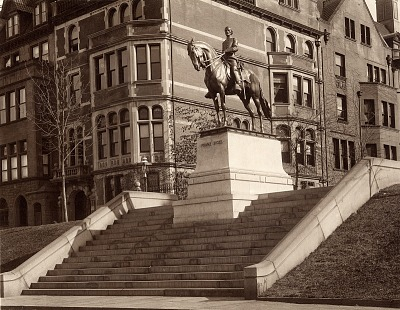 General Franz Sigel [sculpture] / (photographed by Jospeh Hawkes)