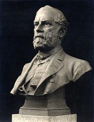 Robert Edward Lee [sculpture] / (photographed by De Witt Ward)