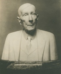 John D. Rockefeller [sculpture] / (photographed by De Witt Ward)