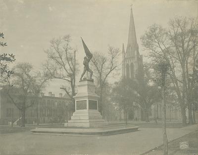 Jasper Monument [sculpture] / (photographed by Detroit Publishing Company)