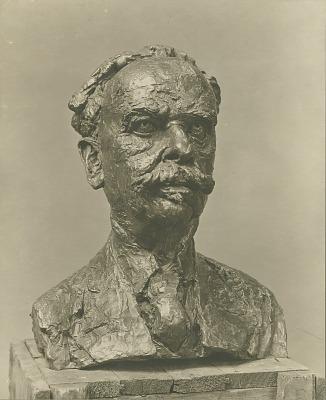 Professor Franz Boas [sculpture] / (photographed by Paul Laib)