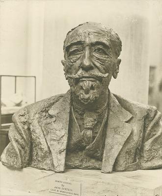 Joseph Conrad [sculpture] / (photographed by Paul Laib)