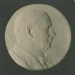 William Allen Rogers [sculpture] / (photographed by De Witt Ward)