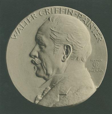 Walter Griffin [sculpture] / (photographed by De Witt Ward)