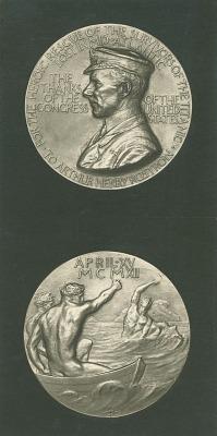 Captain Arthur Henry Rostron Medal [sculpture] / (photographed by De Witt Ward)