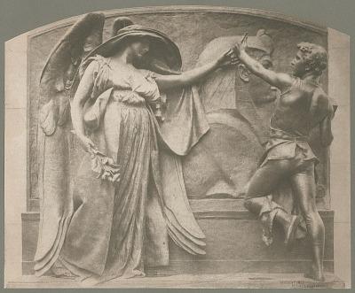 Martin Milmore Memorial [sculpture] / (photographed by Copley)