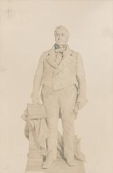 Lewis Cass [sculpture] / (photographed by Detroit Publishing Company)