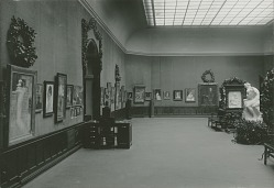 Exhibition, Fine Arts Building, New York, [photograph] / (photographer unknown)