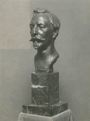 Paul Wayland Bartlett [sculpture] / (photographed by De Witt Ward)