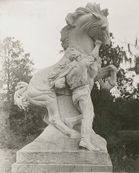 Youth Taming the Wild [sculpture] / (photographer unknown)