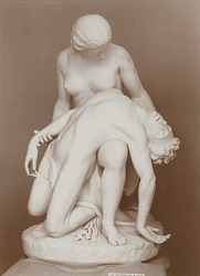 Eve Finding Abel [sculpture] / (photographer unknown)