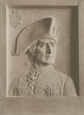 Rochambeau Relief [sculpture] / (photographed by A. B. Bogart)