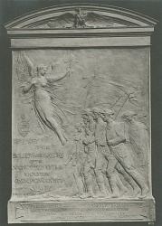 Onondaga County Soldiers and Sailors of the American Revolution Tablet [sculpture] / (photographed by A. B. Bogart)