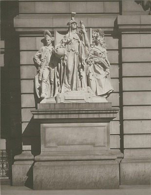 New York in Revolutionary Times [sculpture] / (photographed by Joseph Hawkes)