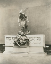 Model for Eugene Field Memorial [sculpture] / (photographed by Louis H. Dreyer)