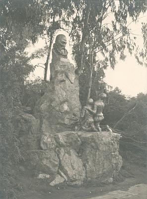 Cervantes Monument [sculpture] / (photographer unknown)
