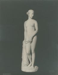 Greek Slave [sculpture] / (photographed by Detroit Publishing Company)