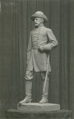 Lieut. General John C. Pemberton [sculpture] / (photographed by Louis H. Dreyer)