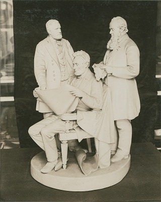 The Council of War [sculpture] / (photographer unknown)