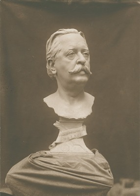John Russell Young [sculpture] / (photographed by A. B. Bogart)
