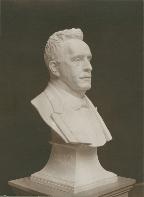 Governor Wilbur L. Cross [sculpture] / (photographer unknown)