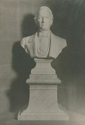 William A. Graham [sculpture] / (photographer unknown)