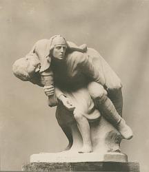 Red Cross [sculpture] / (photographed by De Witt Ward)