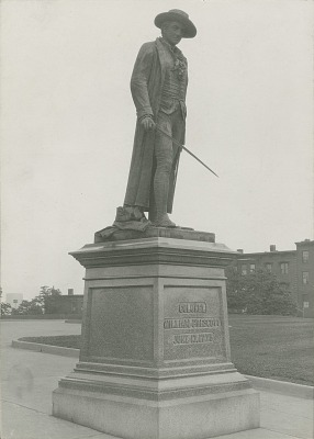 Bunker Hill Monument: Statue of Colonel Prescott [sculpture] / (photographed by Halliday Historic Photograph Co.)