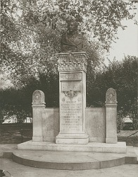 Alexander Lyman Holley Memorial [sculpture] / (photographed by Joseph Hawkes)