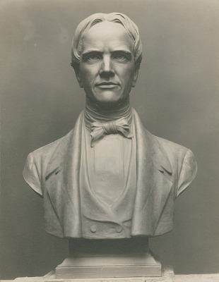 Horace Mann [sculpture] / (photographed by De Witt Ward)