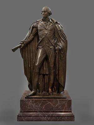 Washington Resigning His Commission