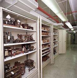 Storage Facilities at Museum Support Center