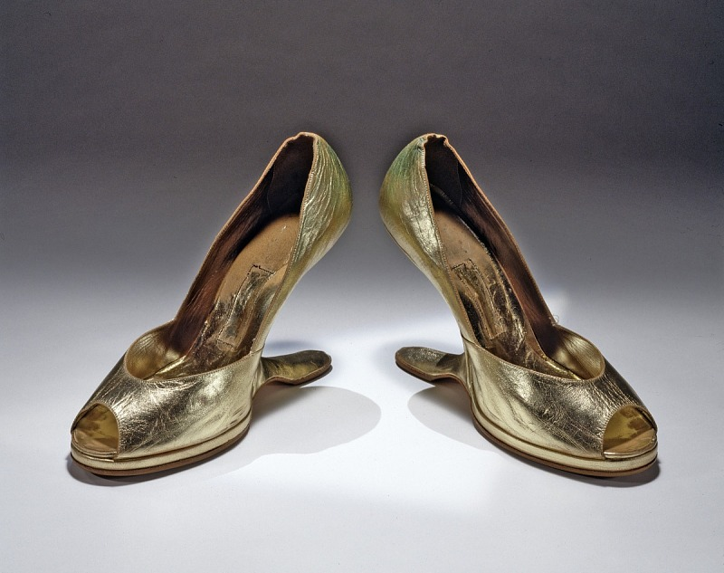 Image for Shoes, worn by Celia Cruz