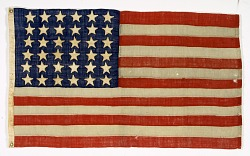 Flag from Abraham Lincoln's Funeral Train