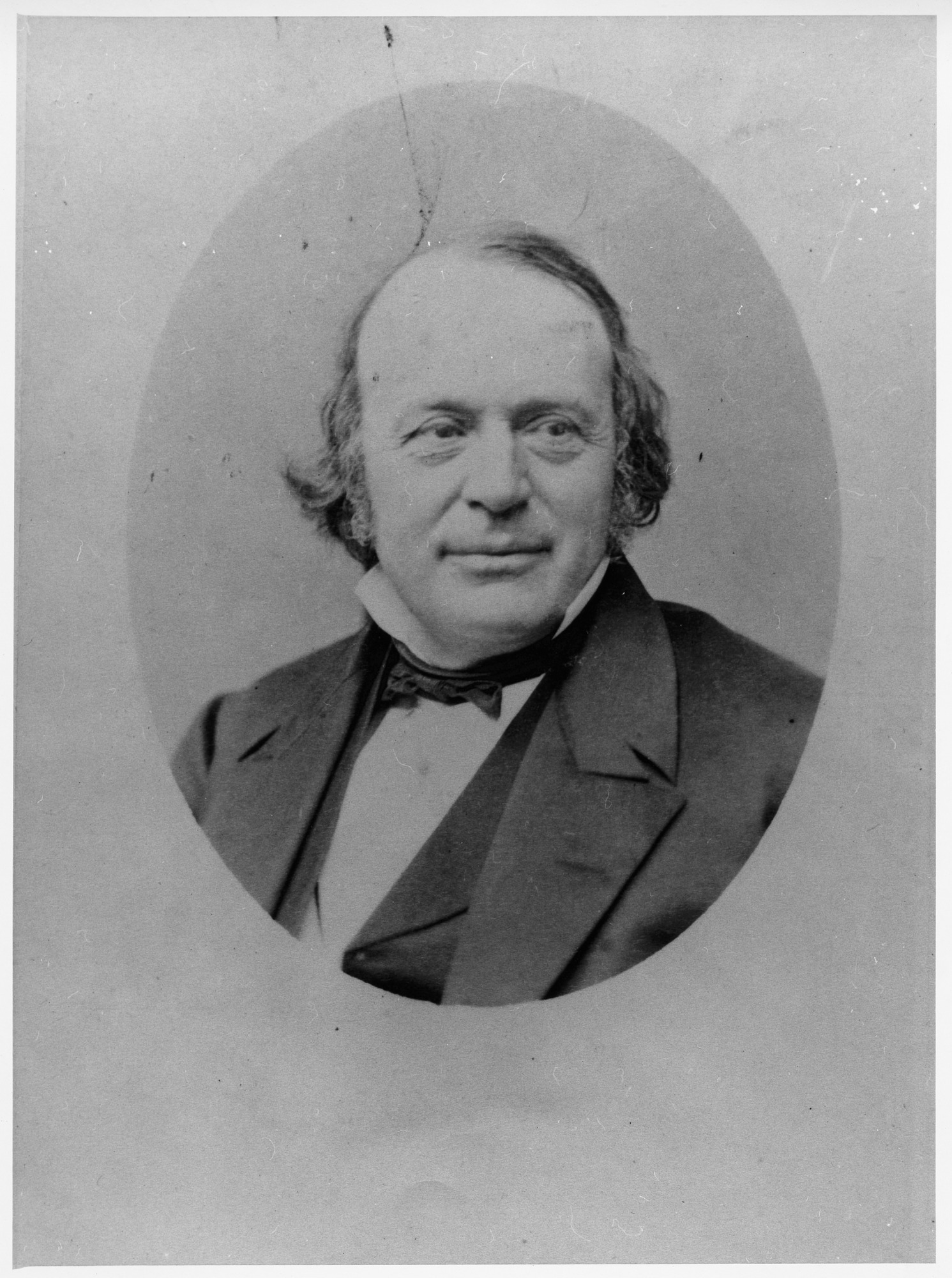 Jean Louis Agassiz, by Unknown, 1870, Smithsonian Archives - History Div, 2002-10678.