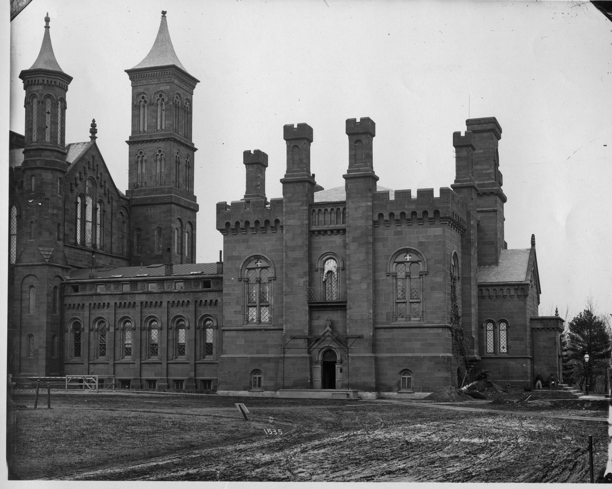 Exterior View of Castle, 1883