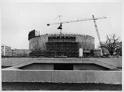Hirshhorn Museum Construction
