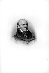 Engraving of John Quincy Adams