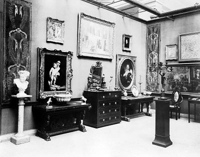 Corner of Gothic Room, Gellatly Collection