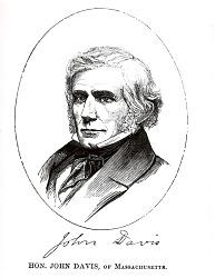 Honorable John Davis of Massachusetts