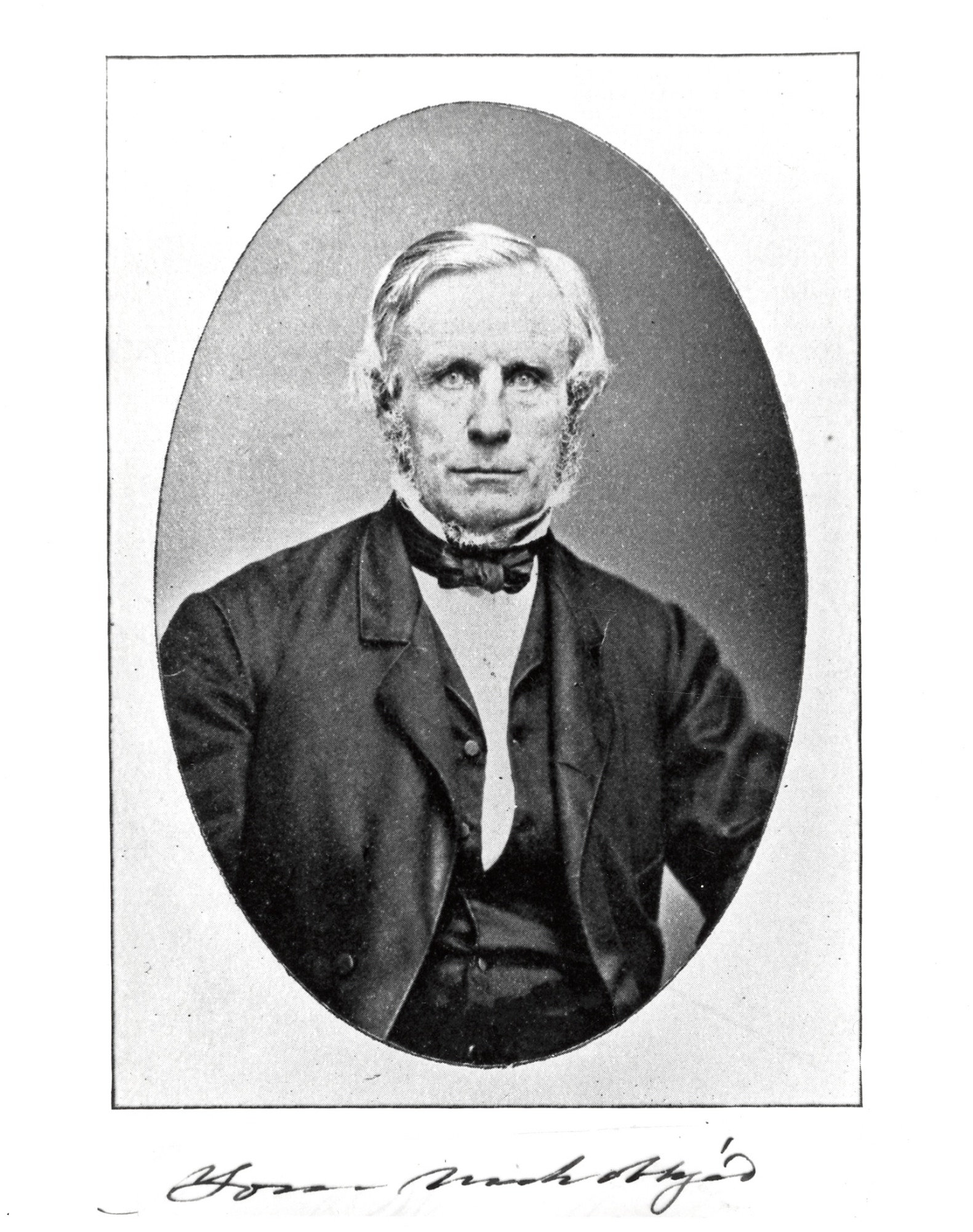 William Jervis Hough, by Unknown, Smithsonian Archives - History Div, 2002-32241.