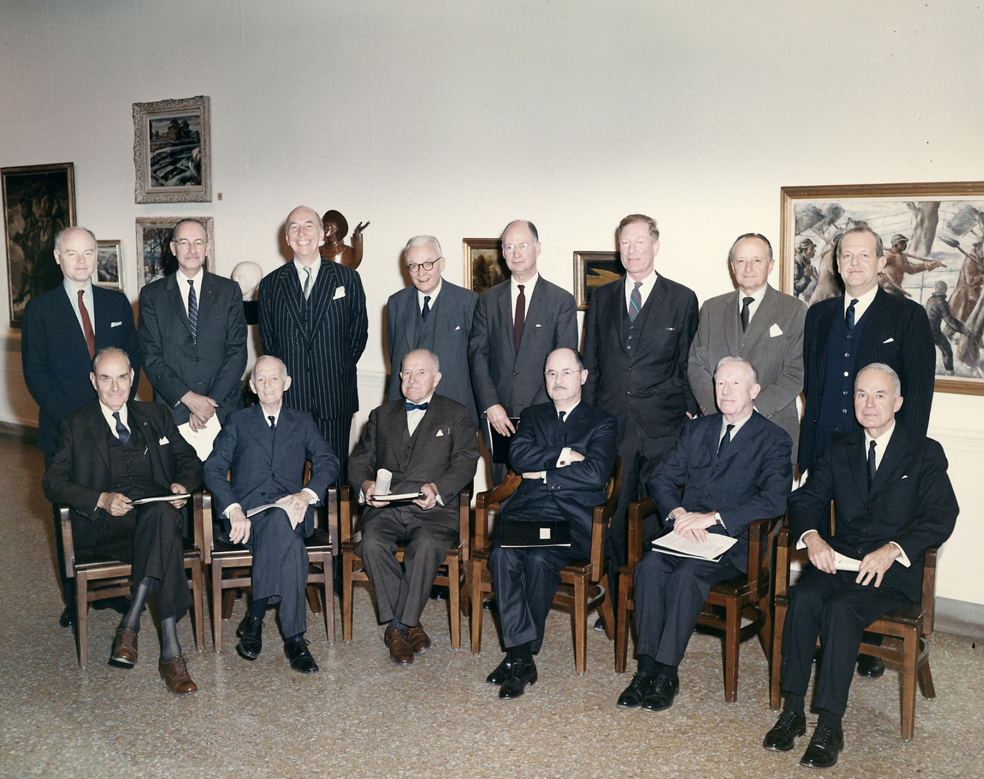 Smithsonian Art Commission Meeting, 1964