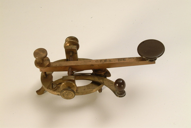 Central Pacific Railroad Telegraph Key