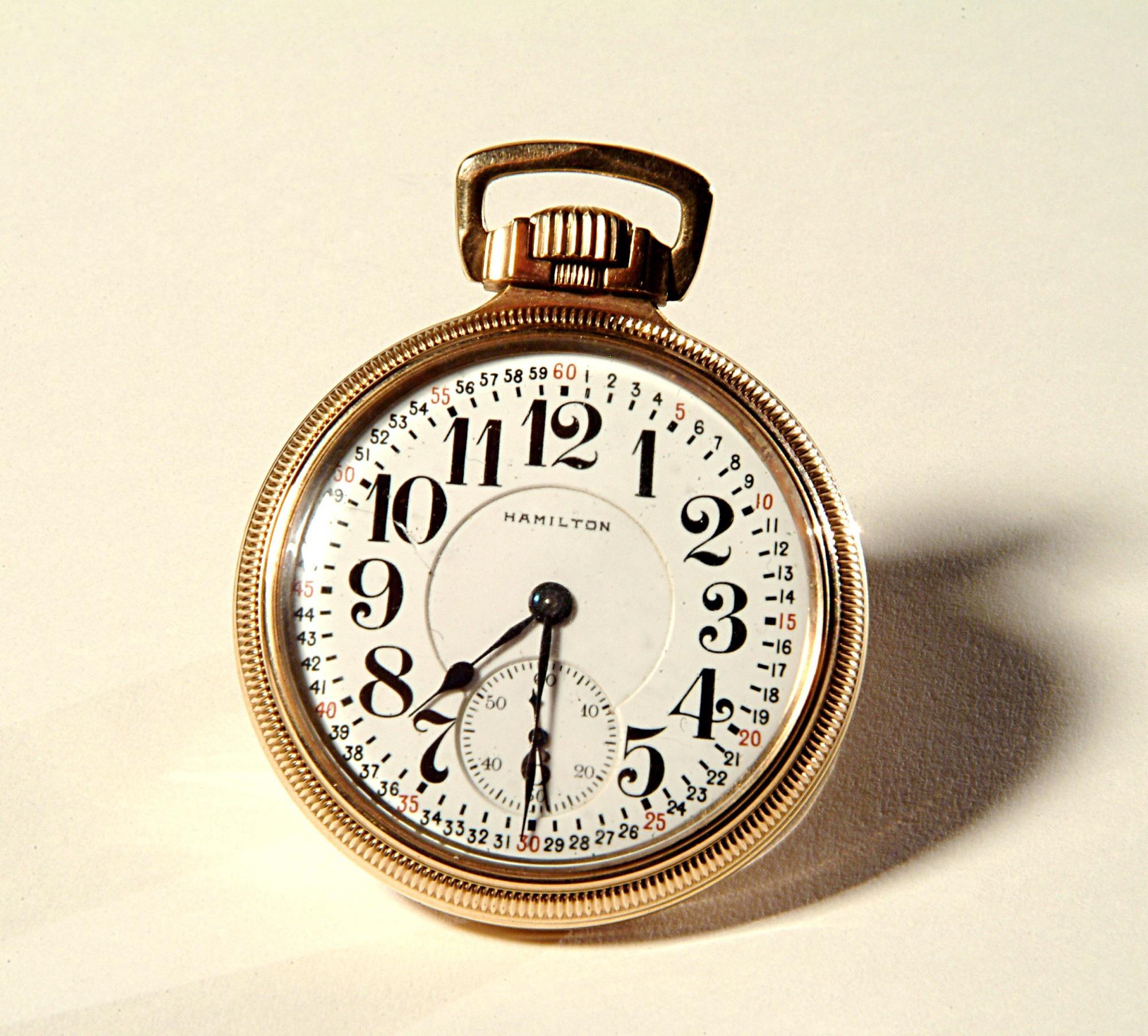 images for Hamilton Model 950 Pocket Watch