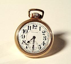 Hamilton Model 950 Pocket Watch