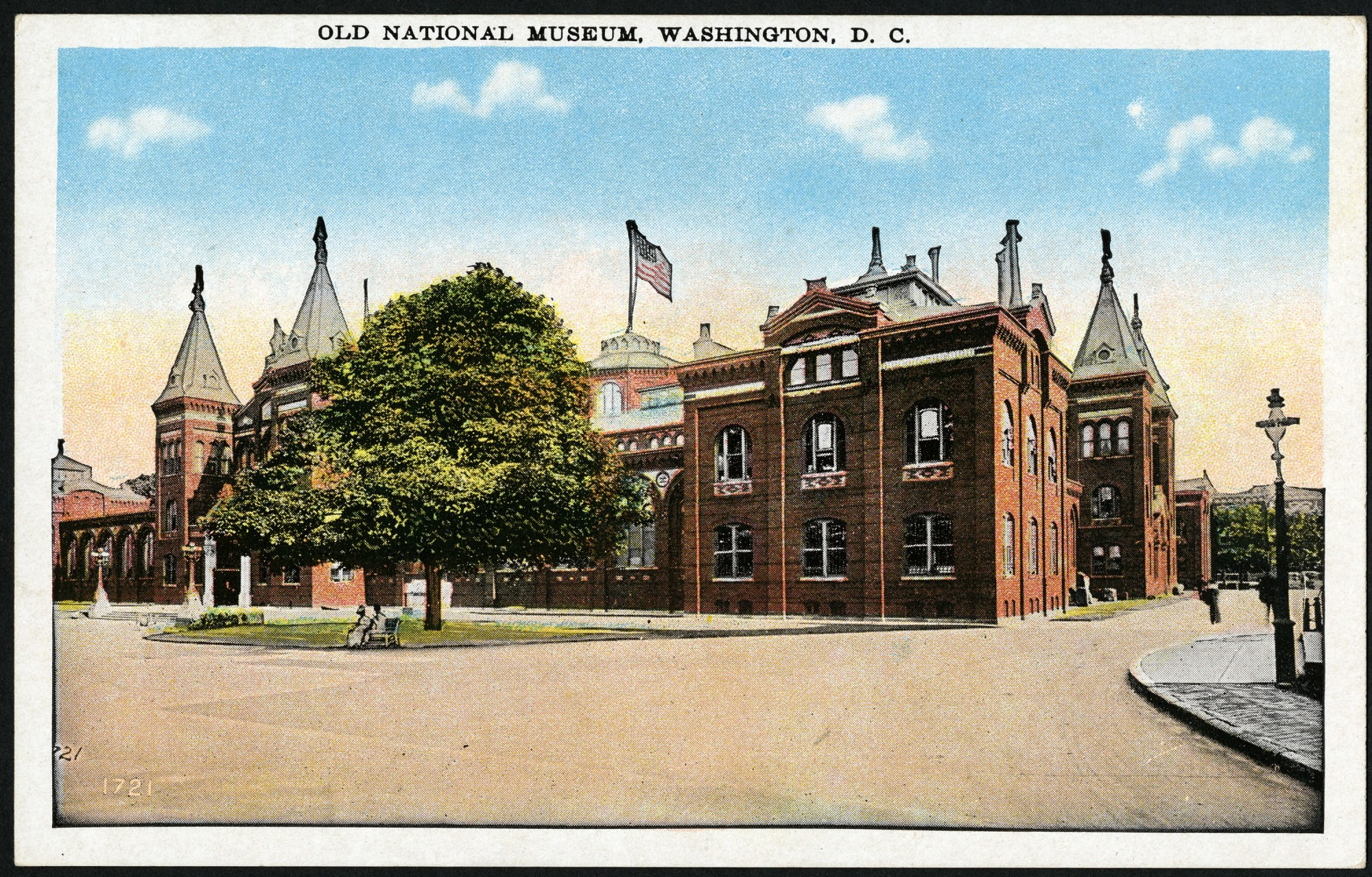Postcard of the United States National Museum Building