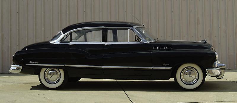 Buick sedan, 1950