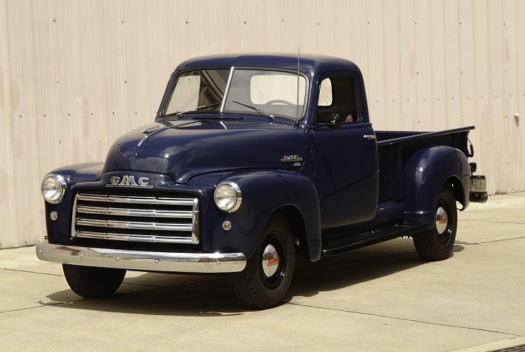 GMC pickup truck, 1949